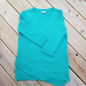 Croft & Barrow aqua sweater